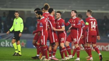 «Ливерпуль» установил рекорд в еврокубках для английских клубов