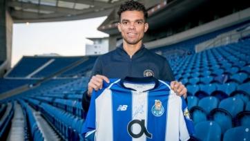 Пепе продлил контракт с «Порту» до 2023 года
