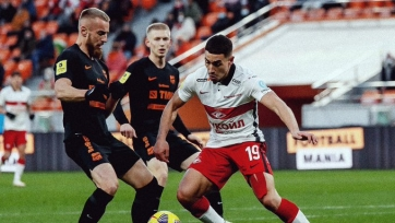 «Урал» и «Спартак» в результативном матче поделили между собой очки