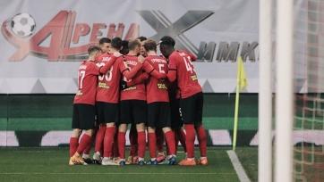«Химки» обыграли «Рубин», Глушаков открыл счет голам