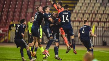 Сборная Шотландии прервала второе по продолжительности отсутствие в финальных частях Евро