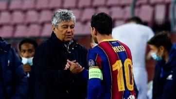 Луческу: «Сказал Месси, что у меня на стене футболка Пеле, хочу, чтобы его висела рядом»