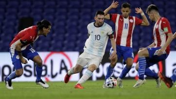 ЧМ-2022. Южная Америка. Аргентина и Парагвай сыграли вничью, Уругвай разгромил Колумбию