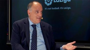 Тебас: «Мы не заметили ухода Роналду из Ла Лиги»