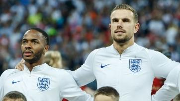 Хендерсон и Стерлинг пропустят предстоящий матч сборной Англии