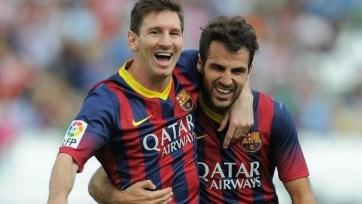 Фабрегас: «Когда Месси покинет «Барселону», все оценят то, что он сделал за эти годы»