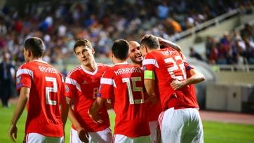 Россия опустилась в третью корзину жеребьевки отбора на ЧМ-2022