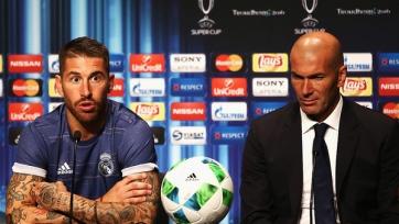 Зидан хочет, чтобы Рамос остался в «Реале»