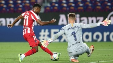 «Атлетико» – «Барселона» – 1:0. Текстовая трансляция матча
