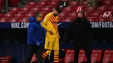Два защитника «Барселоны» травмировались в матче против «Атлетико»