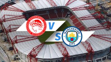 «Олимпиакос» – «Манчестер Сити». 25.11.2020. Где смотреть онлайн трансляцию матча