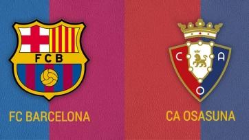 «Барселона» – «Осасуна». 29.11.2020. Где смотреть онлайн трансляцию матча