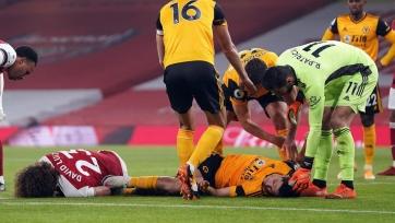 Хименес в игре против «Арсенала» проломил себе череп