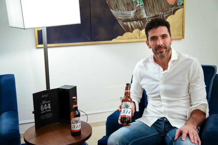 Торговая марка Budweiser провела оригинальную акцию в честь исторического достижения Месси