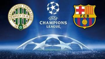 «Ференцварош» – «Барселона». 02.12.2020. Где смотреть онлайн трансляцию матча