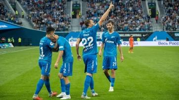 «Зенит» и «Краснодар» добыли разгромные победы над «Уралом» и «Ротором»