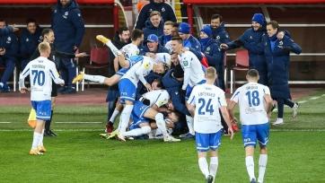 «Динамо» минимально переиграло «Арсенал»