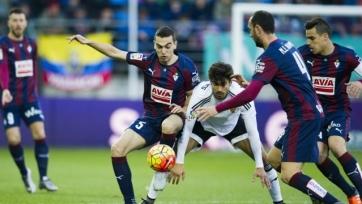 Чемпионат Испании. «Валенсия» и «Эйбар» скатали сухие нули
