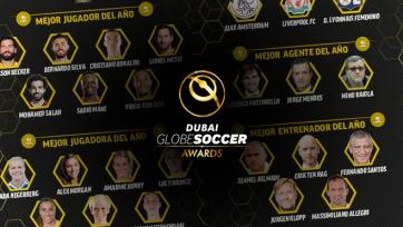 Названы номинанты на премию Globe Soccer лучшему футболисту, тренеру и клубу года