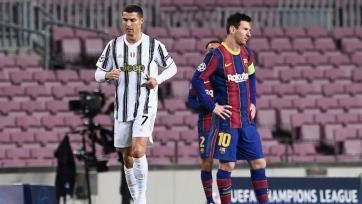 Роналду: «Никогда не считал Месси соперником»