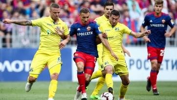 Три игрока ЦСКА пропустят матч против «Ростова» из-за дисквалификации