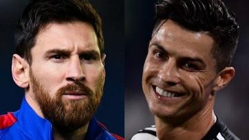 Роналдо, Месси, Роналду – лучшие нападающие в истории по версии France Football