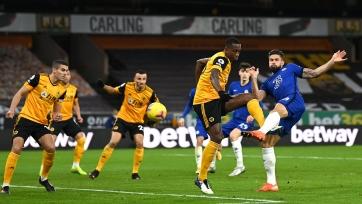 Жиру идет на серии из 7 голов в 7-ми последних матчах за «Челси»