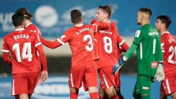 «Севилья» легко прошла в 1/32 финала Кубка Испании