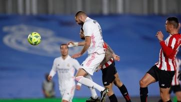 «Реал» дома обыграл «Атлетик»