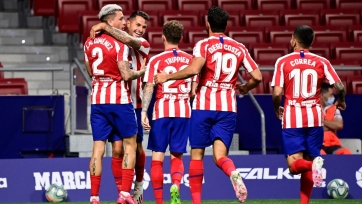 «Атлетико», «Валенсия» и «Леванте» вышли во 2-й раунд Кубка Испании