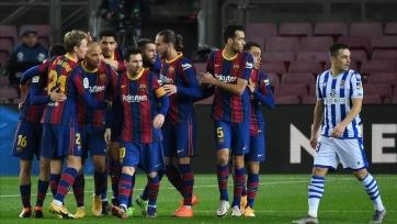 «Барселона» прервала беспроигрышную серию «Реал Сосьедада»