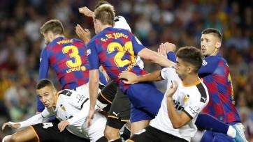 «Барселона» – «Валенсия» – 2:2. Текстовая трансляция матча