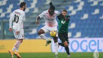 «Сассуоло» - «Милан» - 1:2. Видео и обзор матча