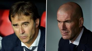 Зидан и Лопетеги признаны лучшими тренерами Ла Лиги сезона 2019/20