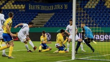 «Боруссия» Д преодолела стадию 2-го раунда Кубка Германии, «Хоффенхайм» вылетел из турнира