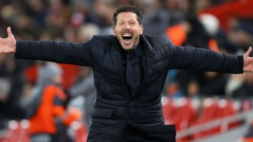 Симеоне добился юбилейной победы во главе «Атлетико»