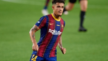 «Барселона» хочет продать Коутиньо зимой