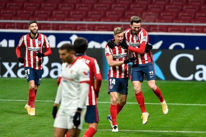 «Атлетико» - «Севилья» - 2:0. Видео матча и обзор гола