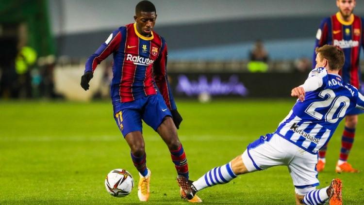 «Реал Сосьедад» - «Барселона» - 1:1, пен. 2-3. Видео матча и обзор голов