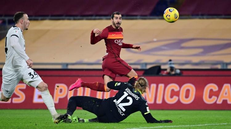 «Рома» – «Специя» – 4:3. Обзор матча и видео голов