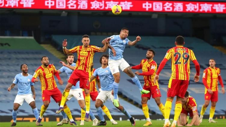 «Вест Бромвич» – «Манчестер Сити» – 0:5. Обзор матча и видео голов