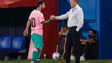 Куман: «Барселона уже много лет зависит от Месси»