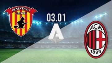 «Беневенто» – «Милан». 03.01.2021. Где смотреть онлайн трансляцию матча