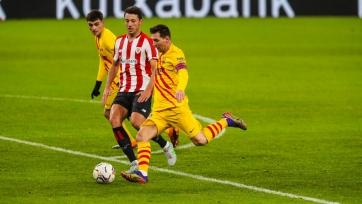 «Барселона» добыла непростую победу над «Атлетиком» из Бильбао