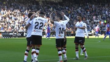 «Валенсия» легко вышла в 3-й раунд Кубка Испании