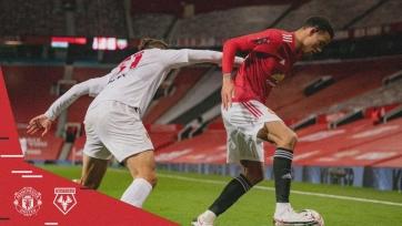 «МЮ» минимально обыграл «Уотфорд» и прошел в 1/16 Кубка Англии