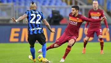 Подарок преследователям. «Интер» потерял очки в боевом матче против «Ромы»