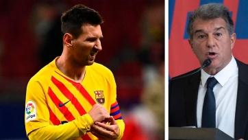 Лапорта: «Хочу вместе с Месси отпраздновать 125-летие «Барселоны» на новом стадионе»