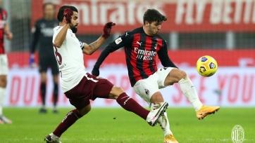 «Милан» в серии послематчевых пенальти переиграл «Торино» и прошел в четвертьфинал Кубка Италии