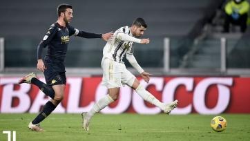 «Ювентус» вышел в четвертьфинал Кубка Италии